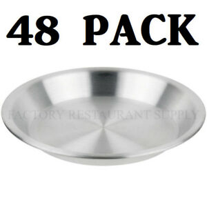 48 Pack 9 X 1 1 4 Aluminum Baking Pie Pan Commercial Bakery Sheet Medium Duty
