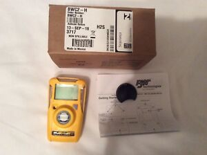 New Un activated Bw Gas Clip Model Bwc2 h H2s Monitor 10 15ppm