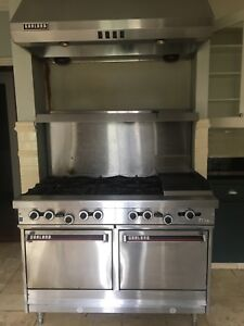 Used Garland Stove Needs Elbow Grease But Works Well