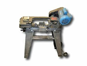 Foremost Machinery Model 029a 5 X 6 Metal Cutting Band Saw