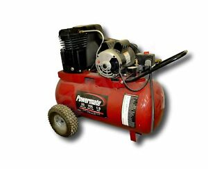 20 Gallon Powermate Cast Iron Oil Lubricated Belt Drive Air Compressor