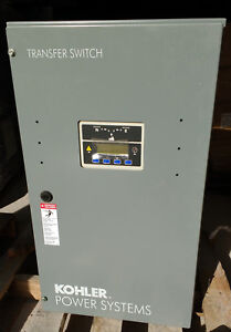 Kohler Kss dfnc 0200s Transfer Switch 200a 240v 3 Wire 1 Phase 2 Pole 60hz