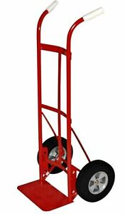 Milwaukee Hand Trucks 47132 Dual Handle Truck With 10 inch Solid Puncture Pro