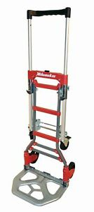 Milwaukee Hand Trucks 73333 2 In 1 Fold Up Convertible Hand Truck