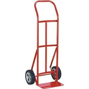 Milwaukee 47109 600 pound Capacity Flow Back Handle Hand Truck With 8 inch Ac