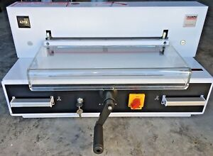 Triumph Cutter 4315 Current Model Ideal Mbm Electric Semi automatic Paper Cutter