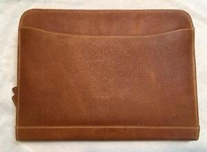 Leather Writing Padfolio Portfolio