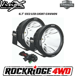 Vision X 6 7 Cg2 Led Light Cannon Gen 2 Pair W Harness Cg2 Cpz610kit