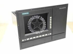 Siemens Sinumerik 840c 840ce 19 Color Op With 10 4 Display 6fc5103 0ab01 0aa2