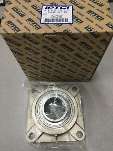 New In Box Iptci 4 bolt Flanged Bearing 2 3 16 Bore Sucsf 211 35
