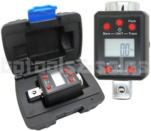 3 4 Dr Digital Torque Wrench Adapter Micro Meter Ft lb Led 738 F lb Microtorque