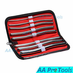 Aa Pro 8 Pieces Dilator Set With Pouch Hegar Sounds