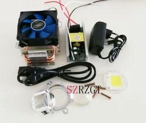 100w 100watt High Power White Led heatsink Cooler Driver lens Led Light Kit