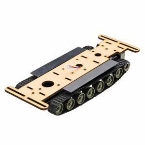Diy Robot Car Tank Chassis Kit For Arduino L298n Programming With Battery Slot