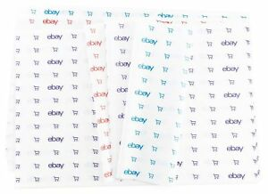 Blue Red And Purple Ebay branded Tissue Paper Multi pack 20 X 30