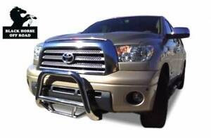 Black Horse 2006 2010 Ford Explorer Stainless Max Bull Bar Bumper Brush Guard