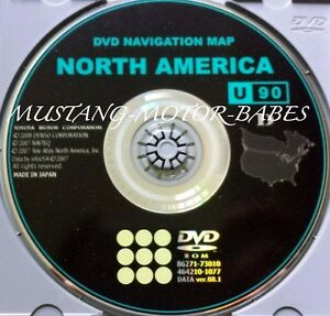 2009 2010 2011 Toyota Venza Wagon Generation 6 Navigation Dvd Map U S Canada