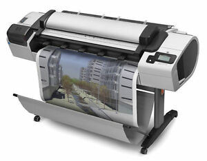 Hp T2300 Mfp 44 Wide Format Printer Financing Plotter Scan Copy W free 2 Yr War