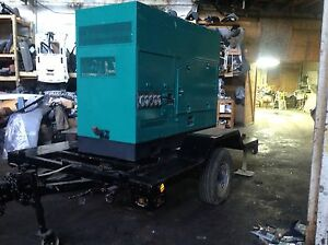 2001 115 Kw 120 208v 1 3ph Onan Cummins Generator 1347 Hrs