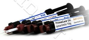 Prime Dent Auto Mix Dual Cure Core Build Up Material 4 X 10 Gram Syringe 003 080