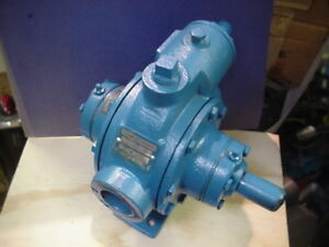 Psg Dover Blackmer Xrl1 25 Petroleum Oil Sliding Vane Pump W 65psi Relief Valve