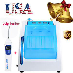 Us Dental Handpiece Maintenance Cleaner Lubrication Oiling Machine Pulp Tester