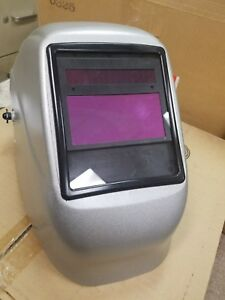 Fibre metal Tigerhood Welding Helmet High Performance Silver 2090 Var Shade Adf