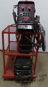 Lincoln Powerwave 355m Mig Welder Powerfeed 10m Wire Feeder Coolarc 40 Cooler