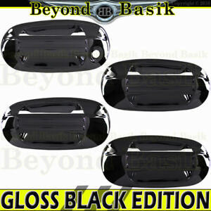 2003 2017 Ford Expedition Lincoln Navigator Gloss Black Door Handle Covers W opk