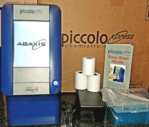 Abaxis Piccolo Xpress Blood Chemistry Analyzer Clia Waived Portable