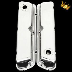 Small Block Ford Valve Covers For 260 289 302 351w Sb Ford Engines Chrome