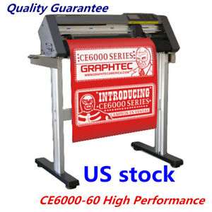 Us Stock 24 Graphtec Ce6000 60 High Performance Vinyl Cutting Plotter