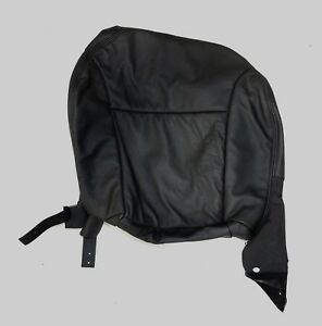 New Saab 9 3 Seat Cover Lh Bottom Black B20 W Pocket Convertible 2008 11 Oem