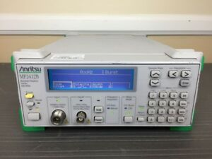 Anritsu Mf2412b 10 Hz To 20 Ghz Microwave Frequency Counter Calibrated