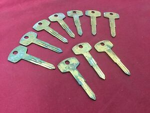 Nissan By Curtis Automotive Da24 Da23 Key Blanks Set Of 10 Locksmith