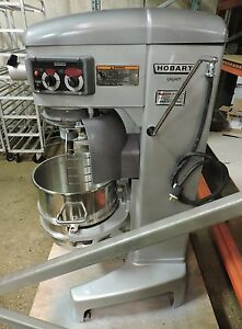 Hobart Legacy Hl400 Commercial 40 Qt Mixer W 3 Attachments Bowl Guard