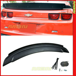 10 11 12 13 Chevy Camaro Zl1 Style Abs Trunk Spoiler With Add on Wickerbill