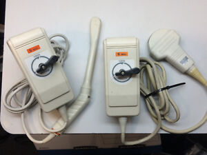 Aloka Ust 960 5 And Ust 964p 5 Ultrasound Transducers Probe biplanar And Convex