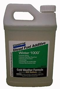 Stanadyne Winter 1000 Cold Weather Fuel Additive 45697 64oz