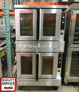 Blodgett Zephaire 200 g Commercial Double Bakery Depth Gas Convection Oven