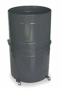 New Dayton Dust Collector Collapsible 55 gallon Drum 3aa33
