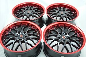 17 Wheels Rims Tires Galant Avenger Is300 Legend Ilx Eclipse Camry Civic 5x114 3