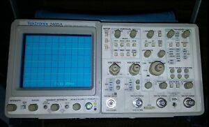 Tektronix 2465a Oscilloscope 350 Mhz Four 4 channel Analog