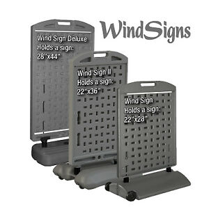Quick Change Wind Sign 28 Inch X44 Inch