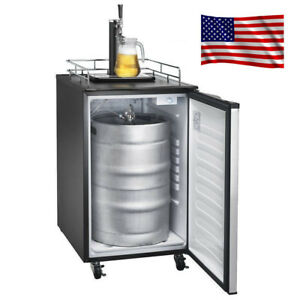 Smad 4 9 Cu Ft Kegerator Beer Keg Fridge Brew Dispenser 32 50 f Kegorator