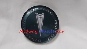 New Custom Sport Wood Steering Wheel Horn Cap Emblem 65 68 Pontiac Gto Firebird