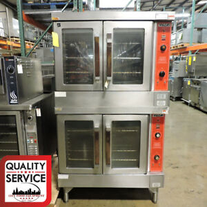 Vulcan Vc4gd 10 Commercial Double Deck Gas Convection Oven