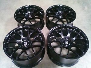 Avant Garde Black 19 Wheels Rims For Porsche Cayman Boxster 986 987 1996 An Up