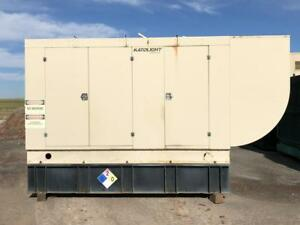 _300 Kw Katolight Generator 500 Gallon Base Fuel Tank Sound Attenuated