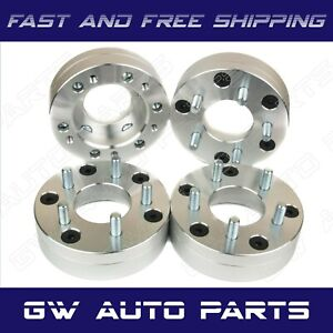 4 Wheel Adapters 2 Thick 6x5 5 To 5x4 5 6 Lug To 5 Lug Gmc Chevy Cadillac